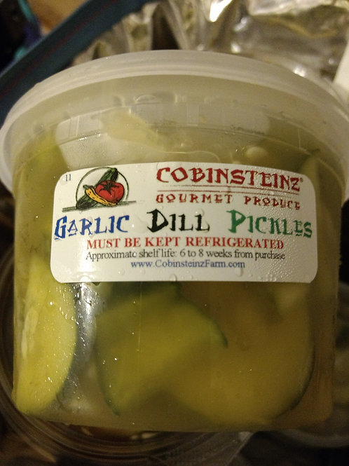 Pickles - Garlic Dill chips