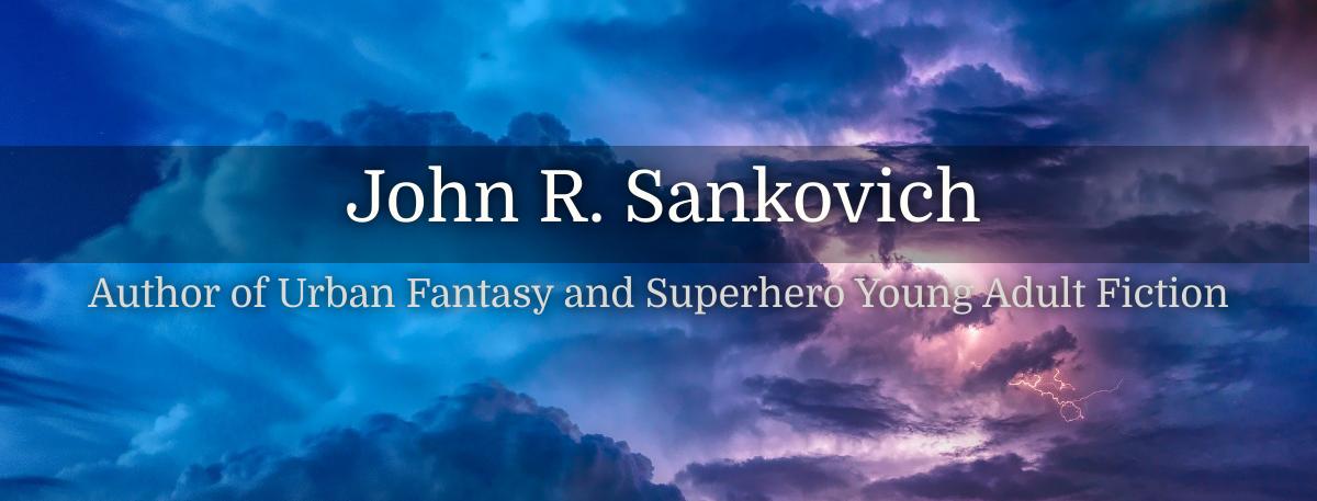 John R Sankovich Author logo