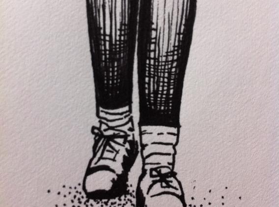 Slouchy Socks by Heather Warren