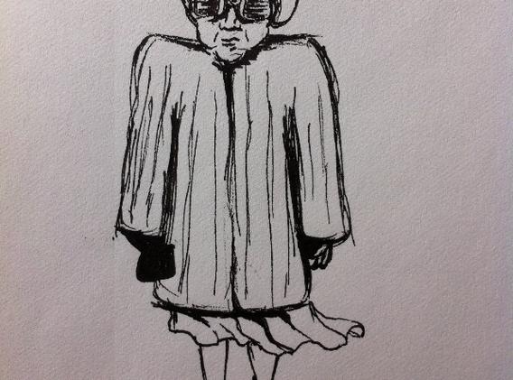 Boxy Lady by Heather Warren