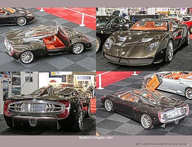 2007-Spyker C12 Zagato