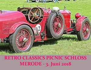 Retro Classics Picnic Schloss Merode