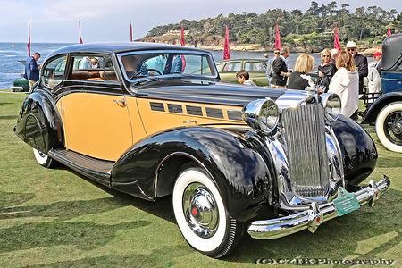 Packard 1604 Super Eight Mayfair Coupé - 1938