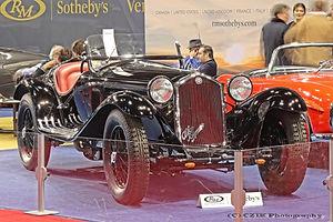 Alfa Romeo 8C 2300 Spider by Touring - 1933
