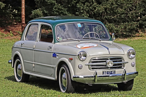Fiat 1100 Berlina - 1953
