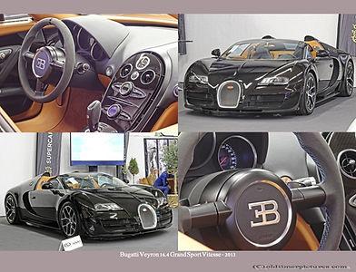 2013-Bugatti  Veyron 16.4 Grand Prix Vitesse