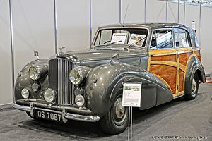 Bentley MKVI Radford Shooting Brake - 1949