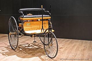 Benz Patent Motor-wagen - 1886