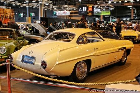Fiat 8V Ghia Supersonic 1953