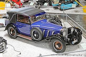 Mercedes-Benz S 1929 Erdmann & Rossi