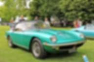 Maserati Mistral 4000 Spider by Frua - 1966