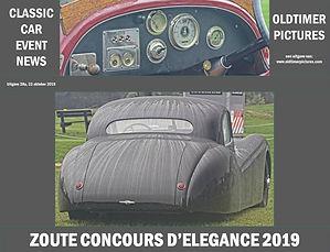 Zoute Concours D'Elegance 2019