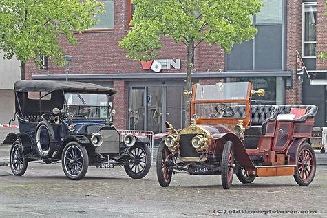 Studebaker 1913 - Wolseley-Siddeley 1908