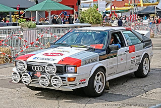 Audi Quattro Rally - 1984
