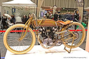 Harley-Davidson Eight-Valve Boardtracker - 1916