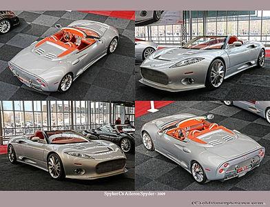 2009-Spyker C8 Aileron Spyder