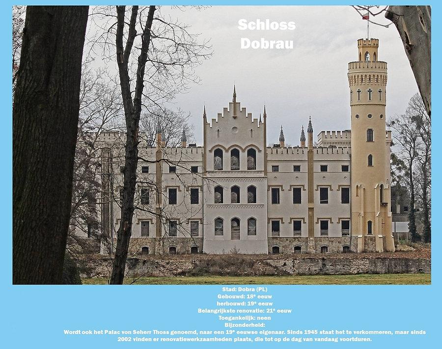 Schloss Dobrau, Poland