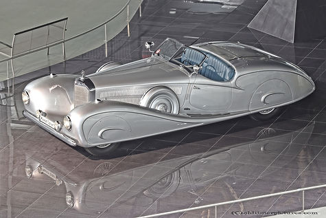 Mercedes-Benz 500 K by Erdmann & Rossi - 1935