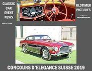 Concours d'Elegance Suisse 2019