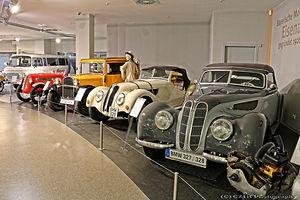 BMW's van voor WOII