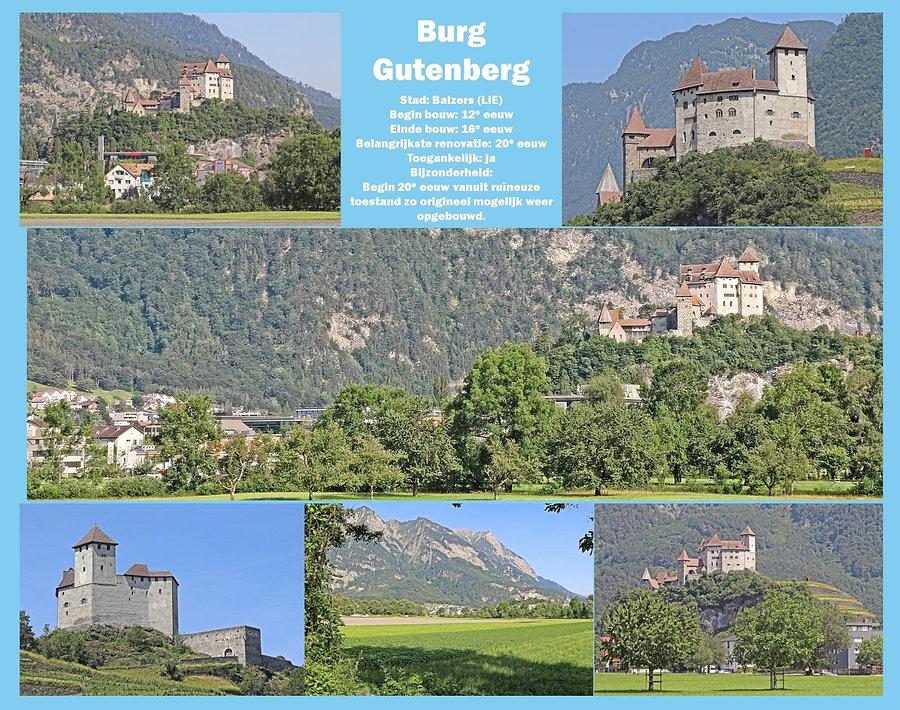 Burg Gutenberg - Liechtenstein