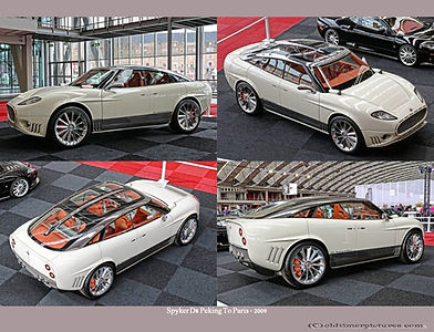 2009-Spyker D8 Peking To Paris