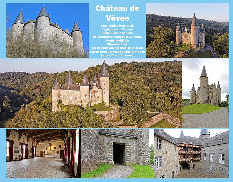 Château de Veves, Belgium