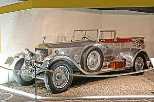 RR Silver Ghost by Woodall Nicholson - 1923