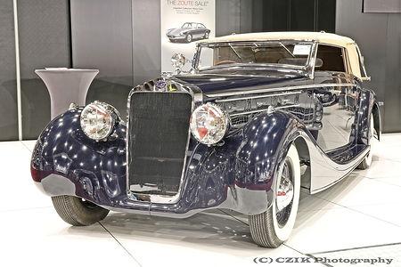 Delage D8-120 Cabriolet - 1937