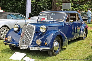 CitroënTraction 15 Six Cabriolet Worblaufen - 1949