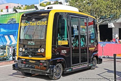 Robo-Taxi Cube Continental