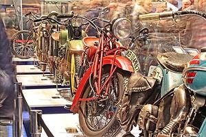 Bremen Classic Motorshow - motoren hal 1