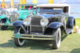 Stutz MB Rollston Convertible Victoria - 1931