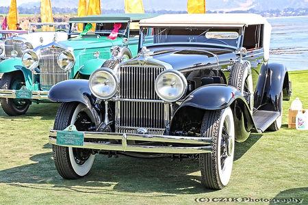Stutz MB Rollston Convertible Victoria - 1931
