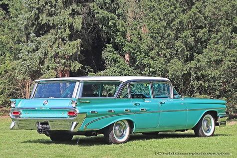 Pontiac Bonneville Safari - 1959