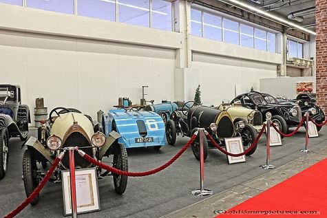 IAA 2019 - Bugatti oldtimers