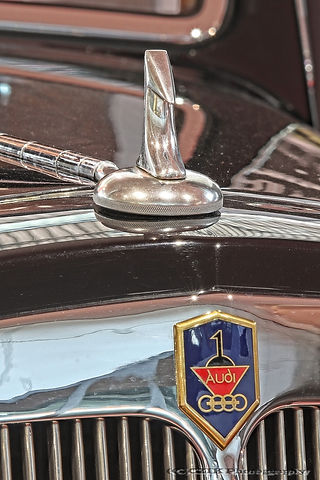 Audi 225 Cabriolet - 1937