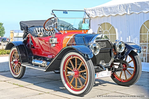 Cartercar R Roadster - 1912