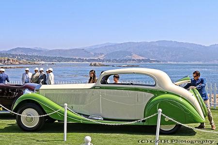 Rolls Royce Phantom I Continental Gurney Nutting 1935