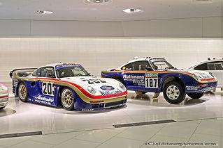 Porsche 961 - 1986 + 953 - 1984