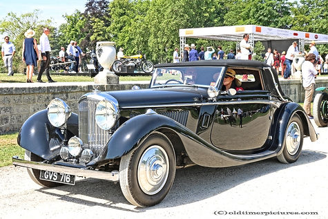 Bentley 4 1/4l 3-Position Drophead Coupé by Veth & Zoon - 1936