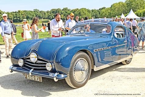 Talbot-Lago T26 Grand Sport Fastback Coupé par Figoni & Falaschi - 1948