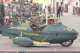 Bonneville racer 750cc
