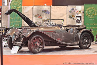 SS 100 Roadster - 1938