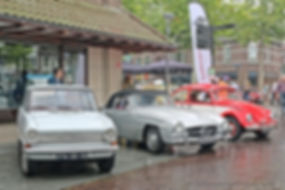 Opel Kadett 1965 - MB 190SL 1959 - VW Kever 1974
