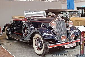 Pierce-Arrow 836 Cabriolet - 1933