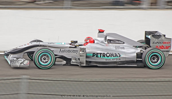 Michael Schumacher - Mercedes F1
