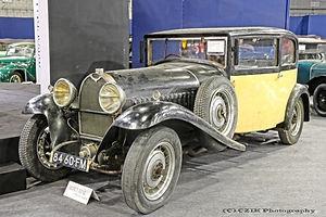 Bugatti Type 49 Berline Vanvooren - 1932