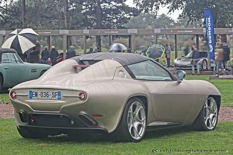 Alfa Romeo 8C Touring Superleggera Disco Volante Spyder - 2010
