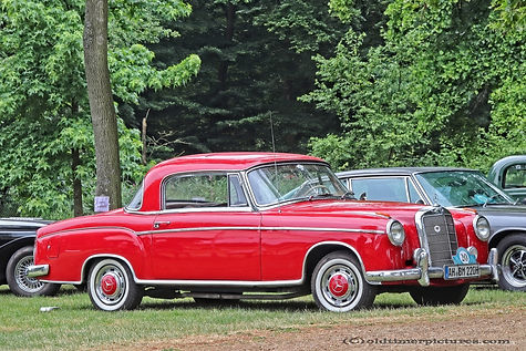 Mercedes-Benz 220 Coupe - 1958